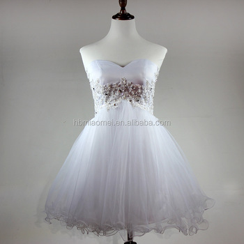 Imagenes de vestidos de noche color blanco