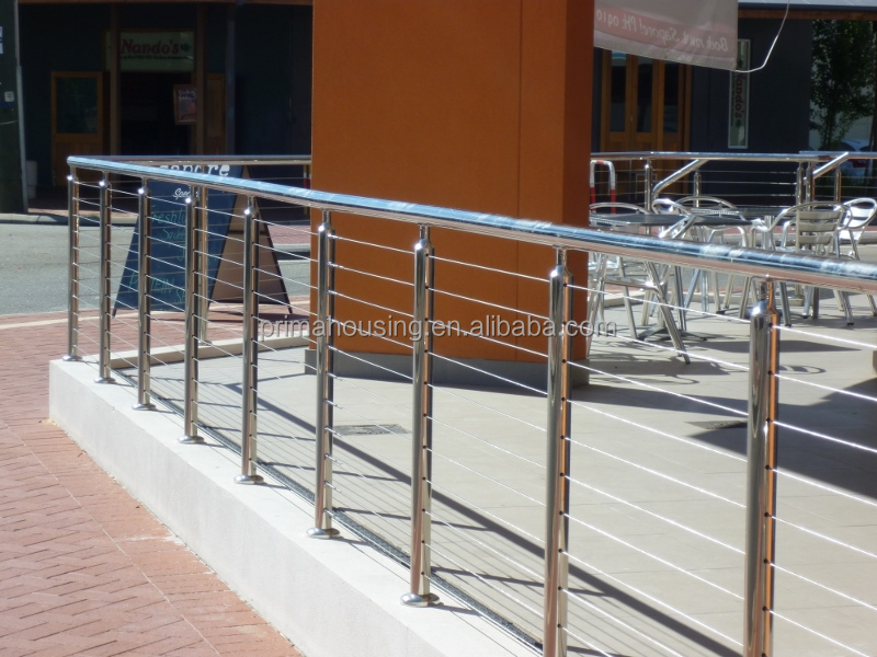 Stainless Steel Wire Mesh Deck Railing, Stainless Steel Wire Mesh ...