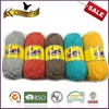 Washable hot sale 100 organic cotton yarn with hand dyed fresh colors