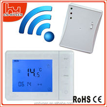 433mhz receiver Digital wireless touch screen thermostat 433mhz receiver