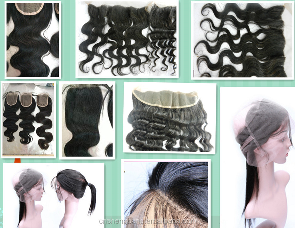 Human hair closure,hidden knots closure frotal and 360,grade 6A,4*4