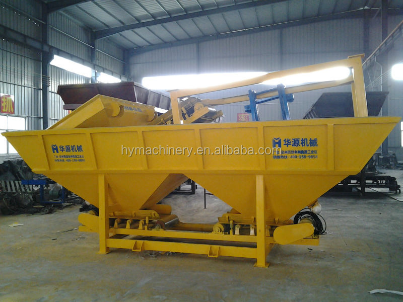 Construction Machinery Small Concrete Batching Plant