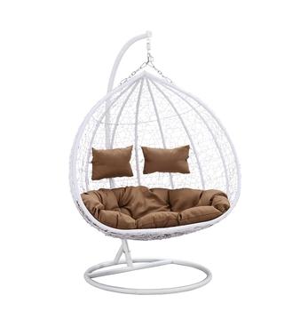 Patio Rattan Garden Wicker Outdoor Furniture Double Seater Outdoor