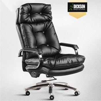 Dickson Vente Chaude President PDG Patron Chaise Haut De Gamme Moderne Bureau Pivotante