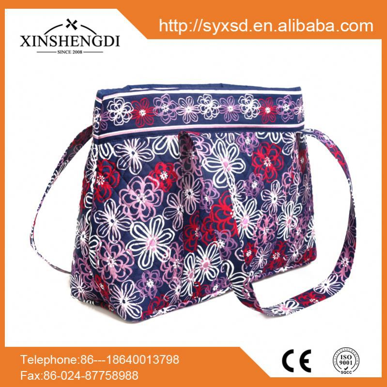 Best seller cotton beautiful quilted designer insulated wholesale handbags malaysia