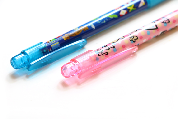 Stationery Supplies High Quality Promotional Cute Cartoon Pen With Clip