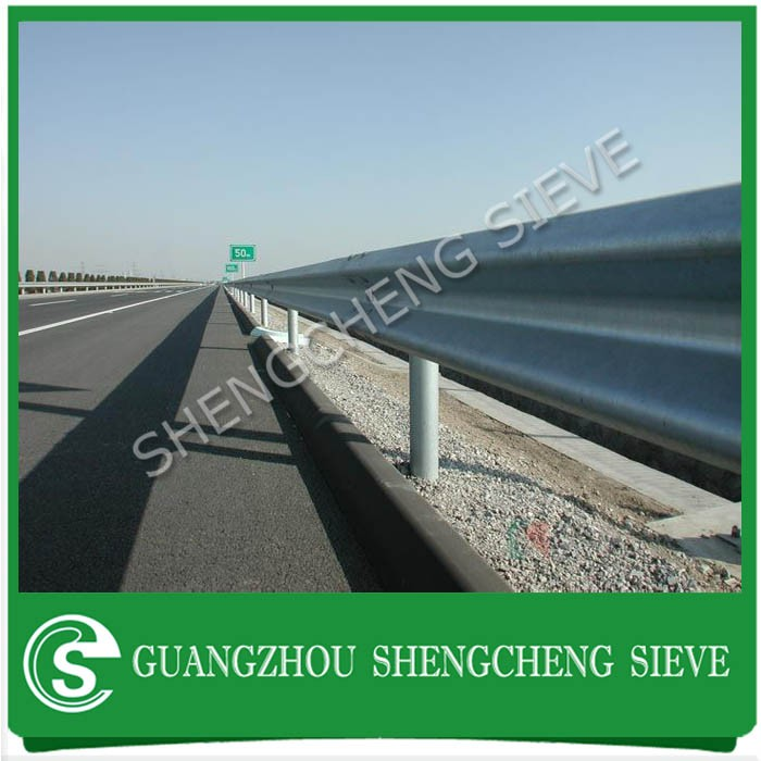 Guangdong supplier w beam guardrail terminal highway guard rail for sale
