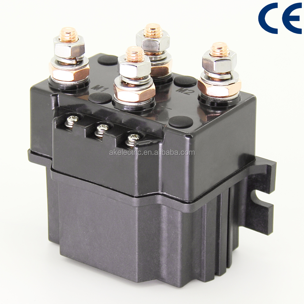 ADC400-DE DC88P 36V Winch Contactor, Used in Electric Automobiles 2NO 2NC DC Contactor 36V Winch Contactor<