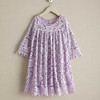 Kids 4T 6Y 8Y 10Y 12Y 14Y White Black Purple Designs Style Model Girls Wedding Evening Party Dreamy Children Lace Dress Patterns