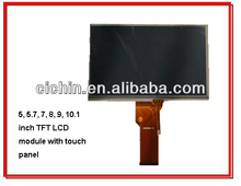 5, 5.7, 7, 8, 9, 10.1 inch capacitive touch screen module