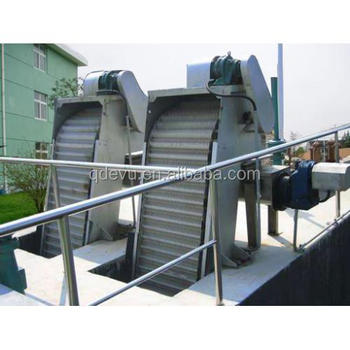 China Vertical Mechanical Trash Rack Bar Screen For Life Wastewater Treatment
