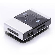 HL Mini USB Clip Digital Mp3 Music Player Support 8GB SD TF Card Mar24