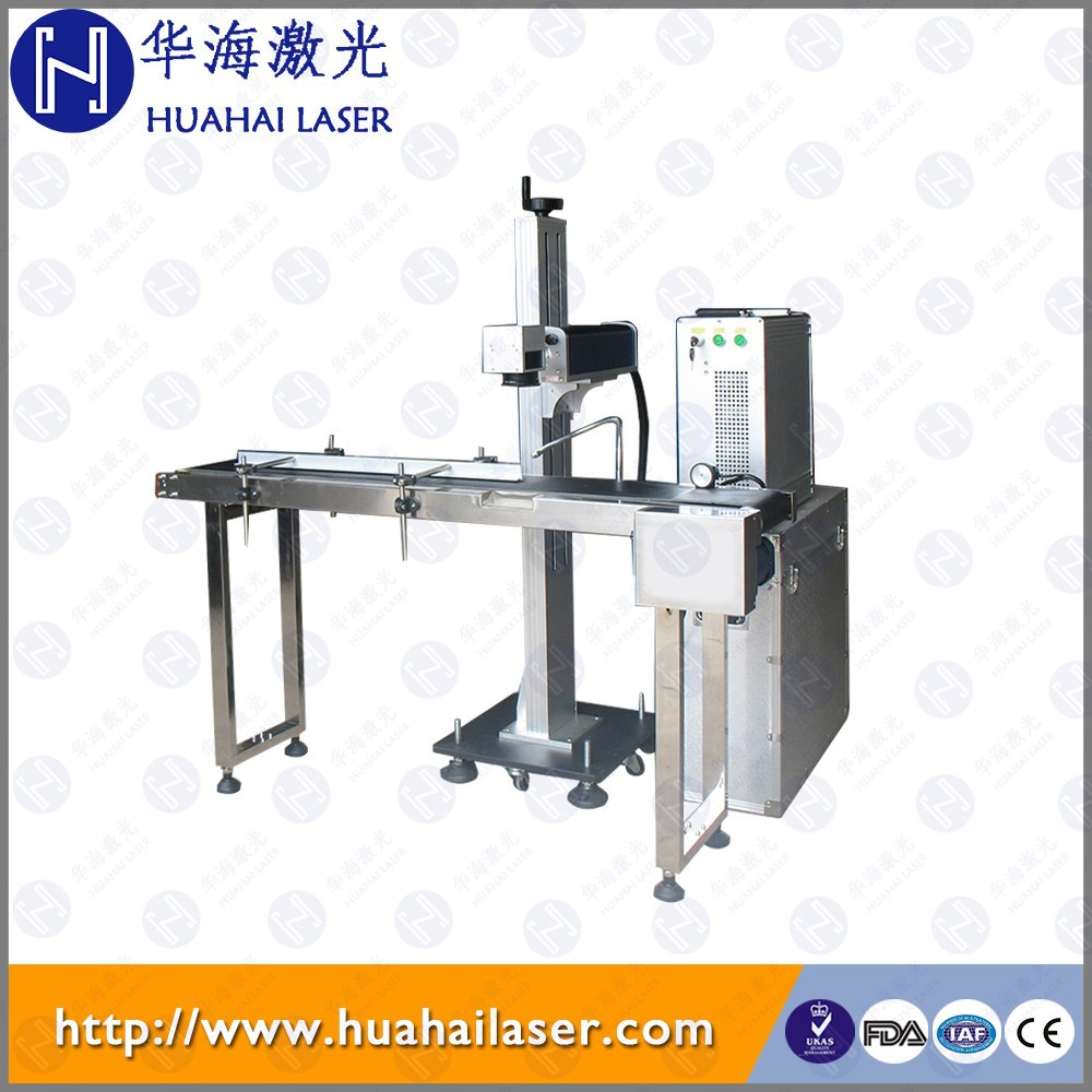 Food packing Flying Green Laser Subsurface Engraving and Surface Marking Machine Series