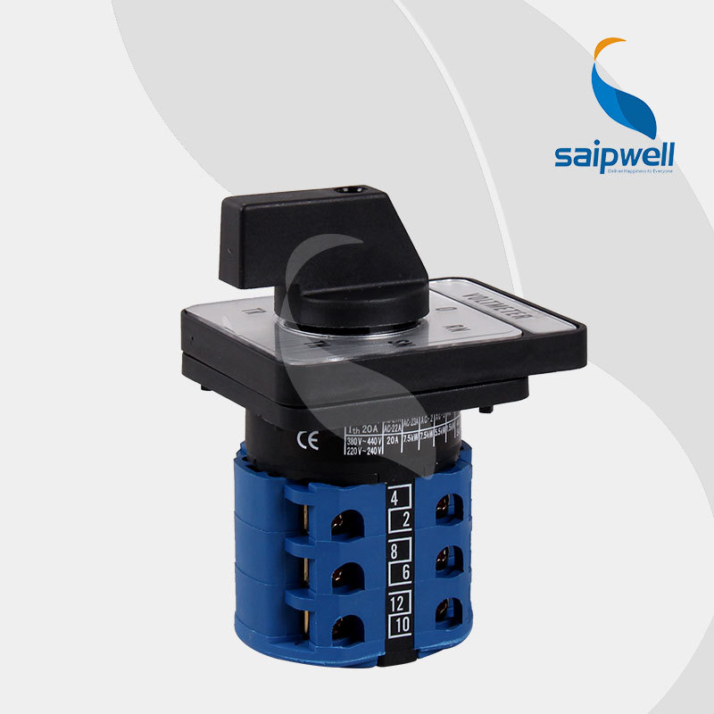 2014 saip/saipwell ats controller automatic transfer switch,mini rotary switch with high qualitity