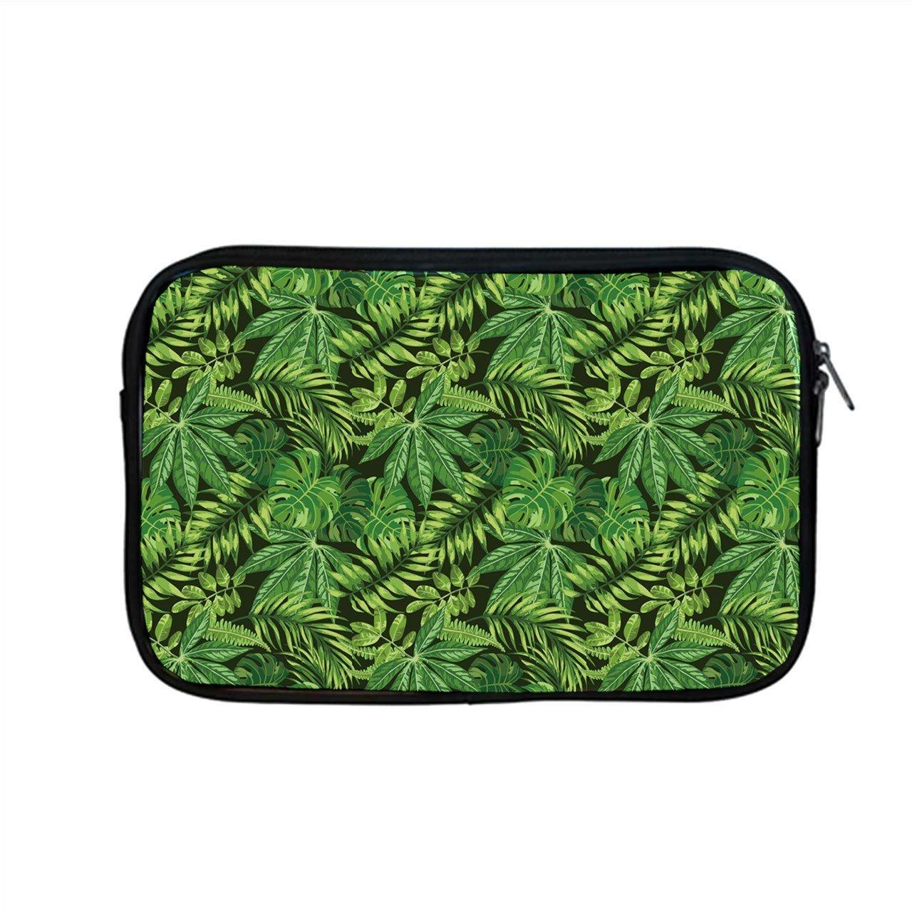 "Tropical Leaves Apple MacBook Pro 13"" Zipper Case"