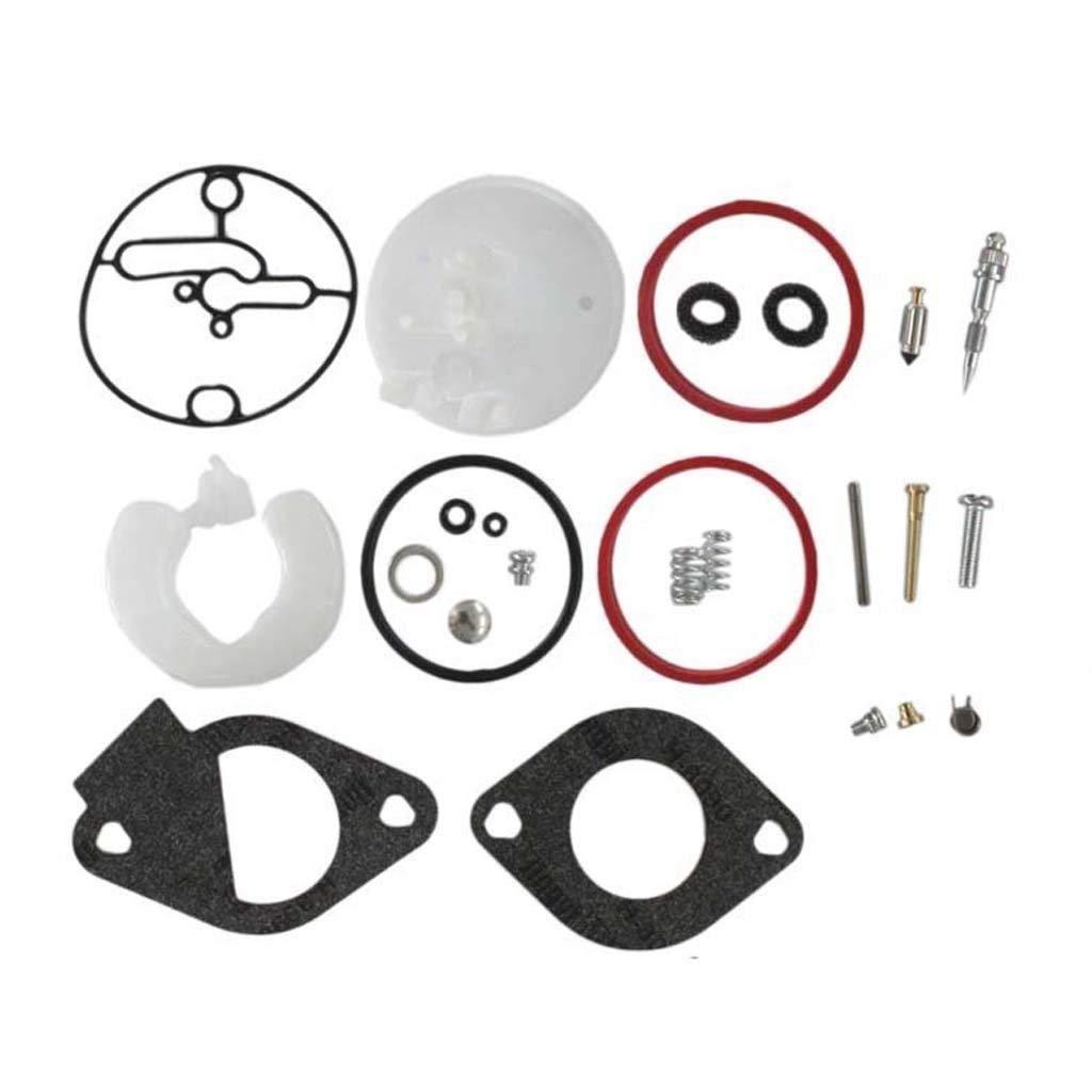 HURI Carburetor Repair Rebuild Kit for Briggs & Stratton LMT 5-4993