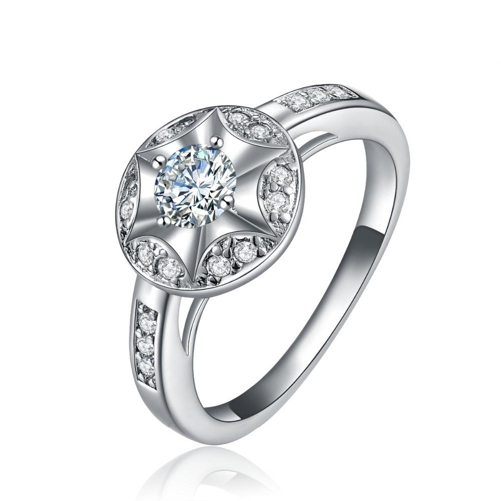 bague de fian ailles bague de mariage 925 bague en argent forme de fleur cz bagues en diamant. Black Bedroom Furniture Sets. Home Design Ideas
