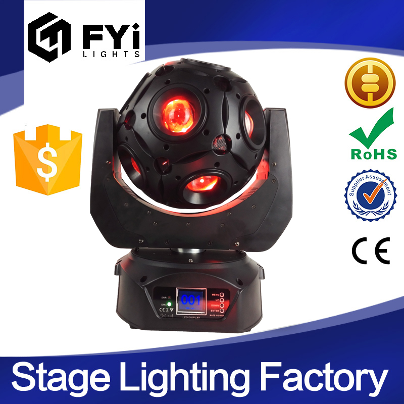 New 4in1 beam LED Football moving head lights for night club