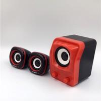 household Usb Multimedia Stereo speaker Speakers 2.1 PC Desktop