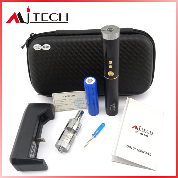Sunfire E mod 2014 hot selling box mod e cig mechanical variable voltage VV e mods and atomizers