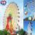 Rotary ride sightseeing amusement park sky wheel