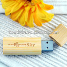print logo wood usb drive eco usb key