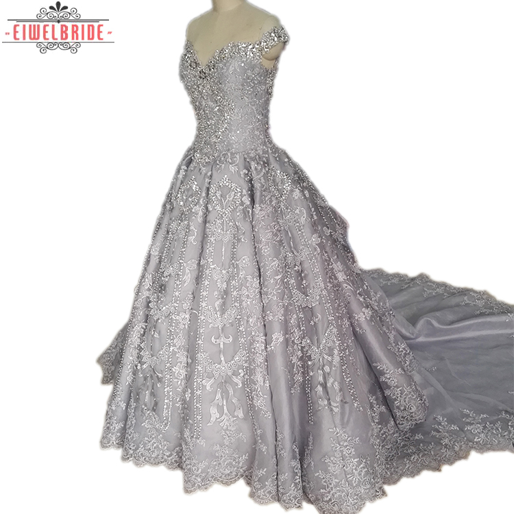 Luxury Off Bahu Ball Gown Bling Besar Alibaba Wedding Gowns Filipina