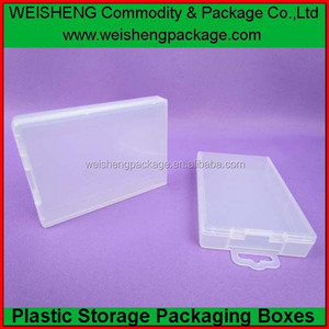 factory wonderful plastic case for Lithium Ion rechargeable batteries box