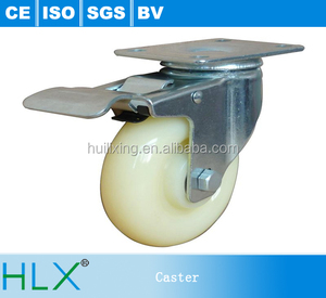 No Noise Industrial Total Universal Locking Caster