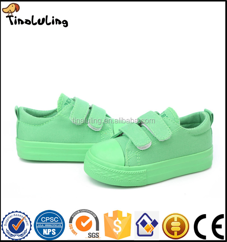 2017 china canvas shoes children injection molded kids shoes print cheap canvas shoes