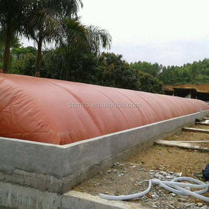 Direct factory supply red mud biogas digester