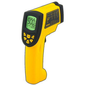 Smart Sensor Non-contact Digital IR infrared thermometer Laser Infrared Thermometer AR862A+ Temperature meter -50~900C