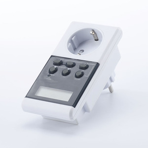 single phase alarm clock electrical timer, countdown electrical timer switch socket