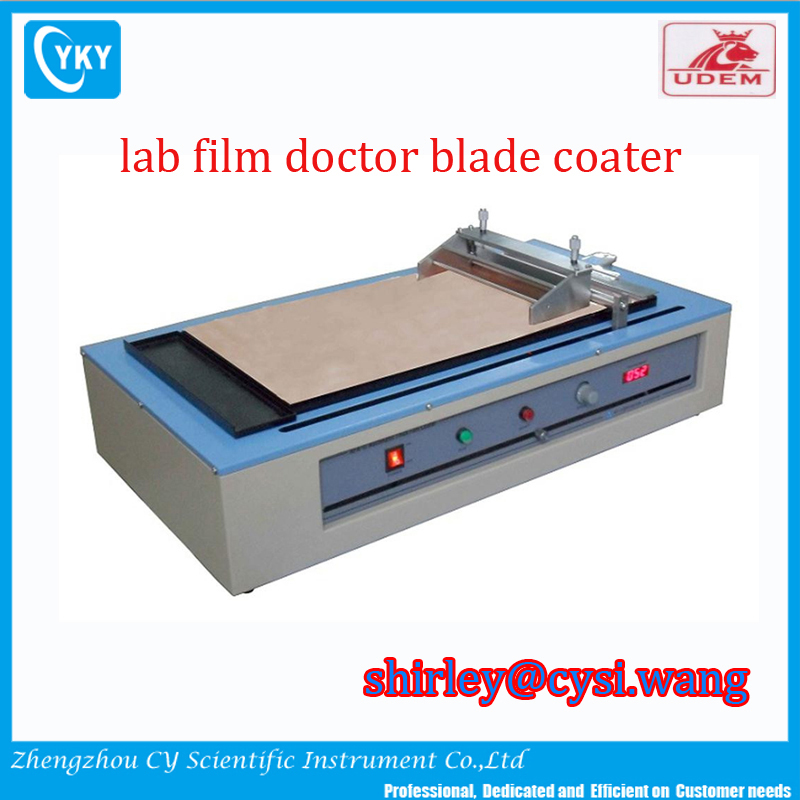 Doctor Blade Coating Machine Mini Tape Casting Coater