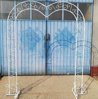 Chinese Supplier Sale White Metal Outdoor Arches For Weddings - Buy ...