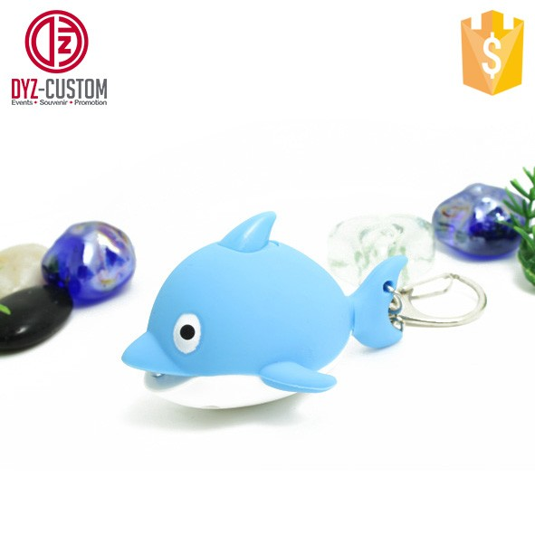 Dolphin shape LED Key chain with Sound (1).jpg