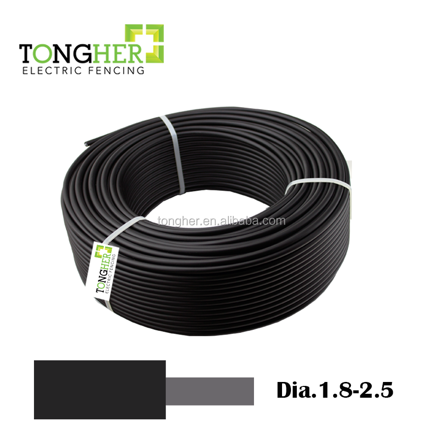 Electric Fence Lead Out Cable Energiser Wire Double Insulated 1.6mm Fencing