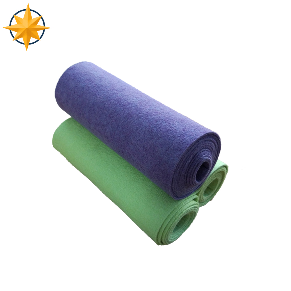 Professional 200gsm 100% Polyester Microfiber Nonwoven Fabric Roll