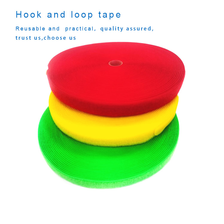 Top quality soft eco-friendly hook and loop tape