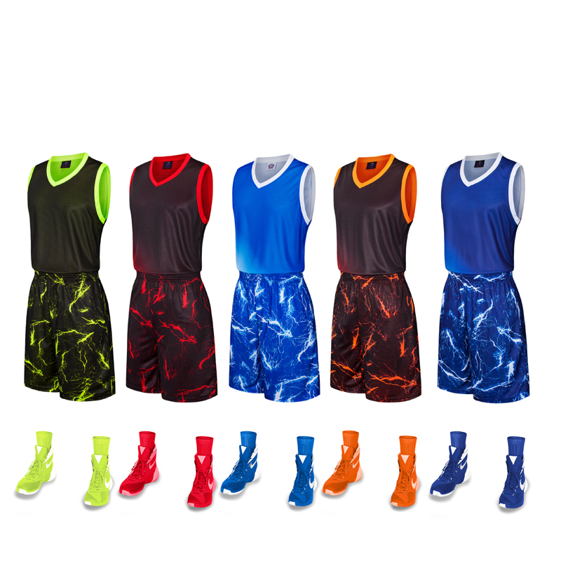 Wholesale New Design Sportswear Sublimation Printing Basketball Jersey Customized Basketball Uniform Dry Fit Basketball Wear фото