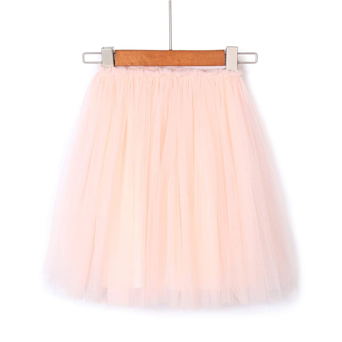 Flofallzique Long Tulle Girls Skirt Ankle Length 1-9 Year Old Toddler Skirt Dancing Skirt Puffy Tutu Skirt for Baby