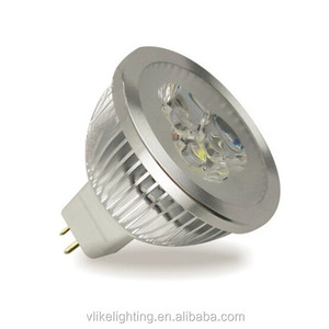 DC/AC 12-24V 3W Warm white narrow beam MR16 LED Spotlight