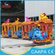 Interesting!!!mini small track train for sale.Mini playground elephant track train for children