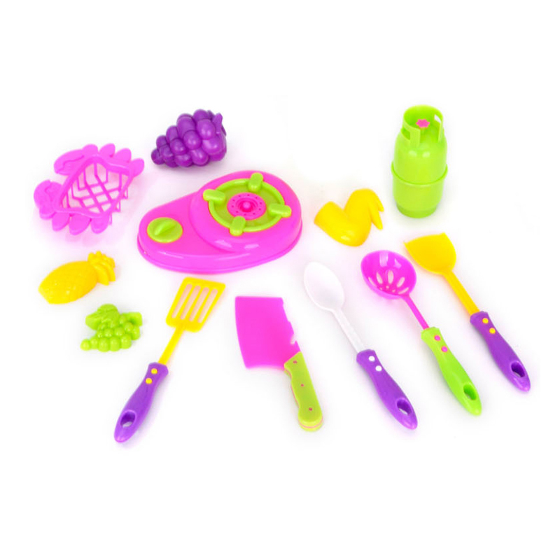 Pretend Play Kitchen Set Toys Kids Cooking Games For Girls Buy