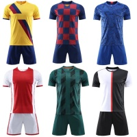 2019 Best Grade Top Thai Quality Sublimation Football Shirt Soccer Jersey Uniform 2020
