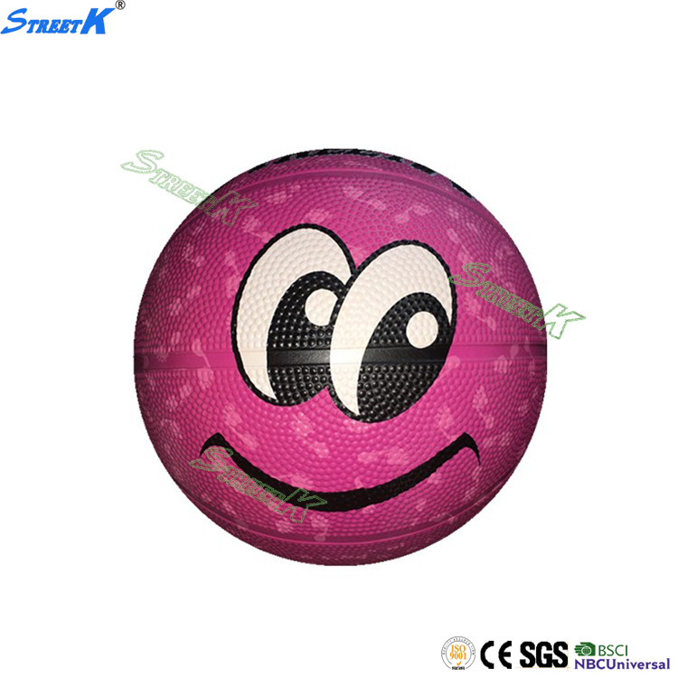STREETK 28%-35% natural rubber contents mini kids basketball balls