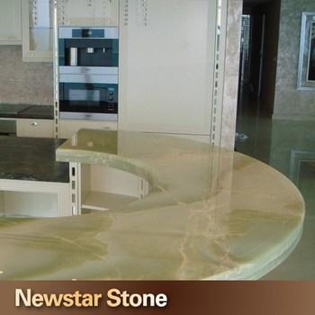 Newstar Backlit Light Green Onyx Countertops Buy Light Green Onyx