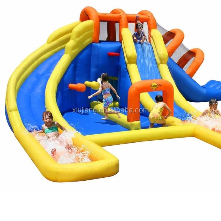 Alibaba Coperta Per Bambini All'aperto aria scivolo gonfiabile bouncer di salto castello Per La Vendita