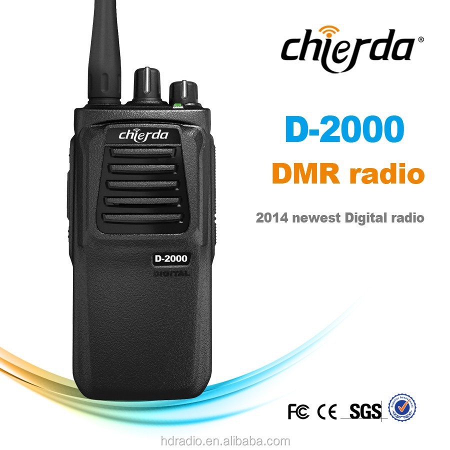 China DMR compatiable mobile intercom digital two way radio