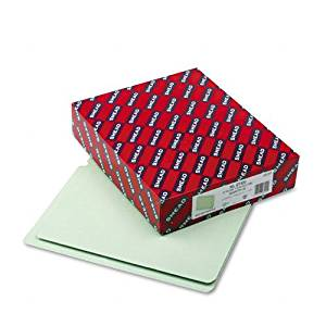 """Smead : Extra Heavy Pressboard Folders, Straight Cut, End Tab, 1"""" Cap, Ltr, GG, 25/Bx -:- Sold as 2 Packs of - 25 - / - Total of 50 Each"""